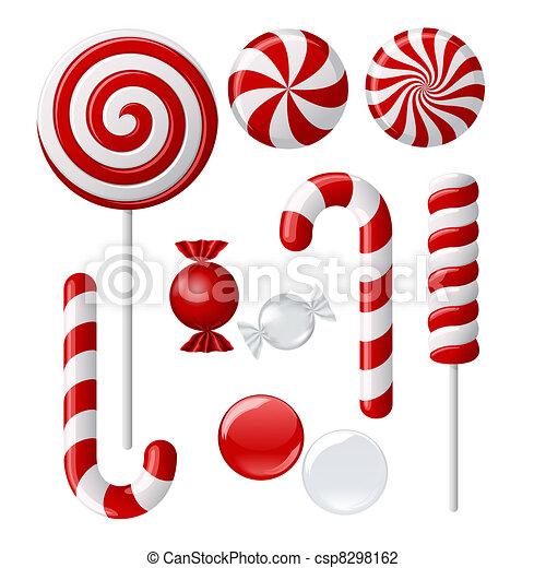 おいしい, lollipop, コレクション - csp8298162
