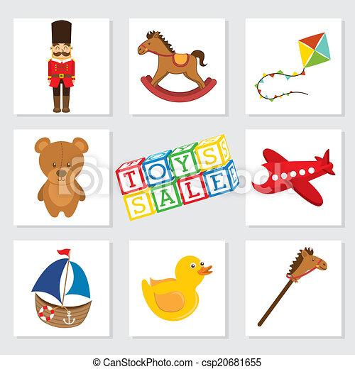 おもちゃ, デザイン - csp20681655