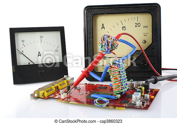 おもちゃ, 修理, 概念, 技術者 - csp3860323