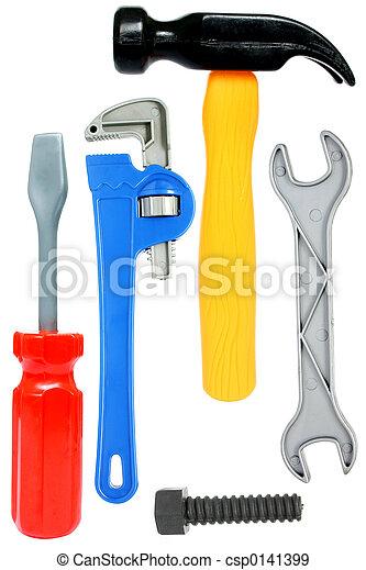 おもちゃ, 道具, 隔離された - csp0141399