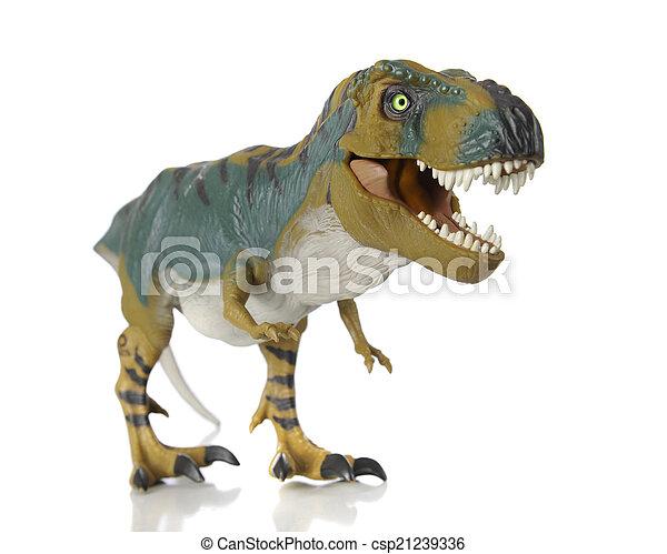 おもちゃ, t-rex - csp21239336