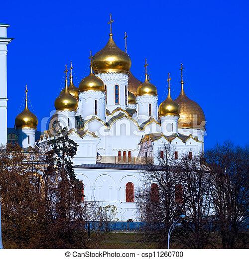 お告げの祝日, 大聖堂, モスクワ - csp11260700