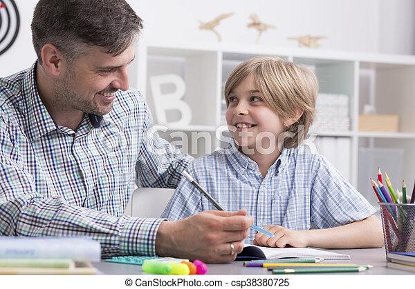 お気に入り, 私, 教師, 彼 - csp38380725