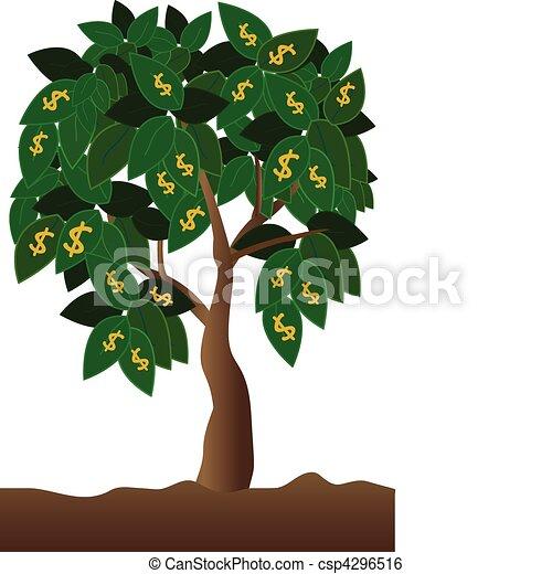 お金の 木 - csp4296516