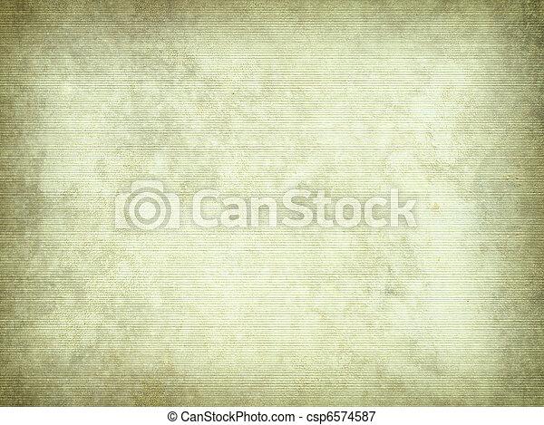 からかわれた, 羊皮紙, 背景 - csp6574587