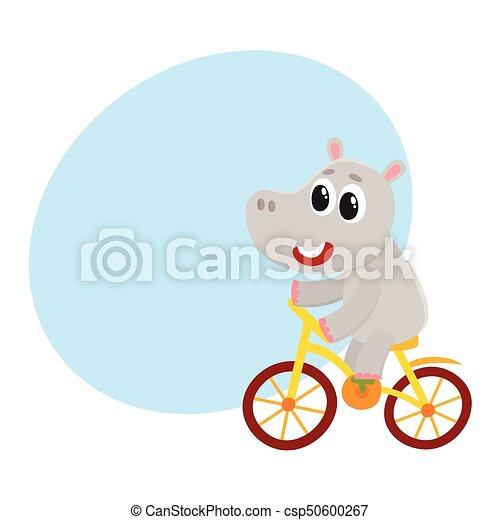 かわいい わずかしか カバ 特徴 サイクリング 自転車 保有物 乗馬