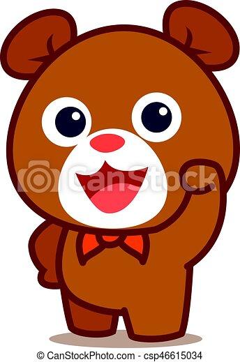 イラスト かわいい 熊