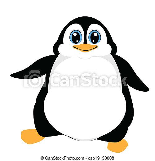 かわいい ペンギン かわいい 歩くこと ベクトル イラスト ペンギン