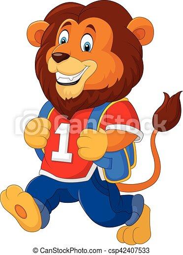 かわいい ライオン バックパック