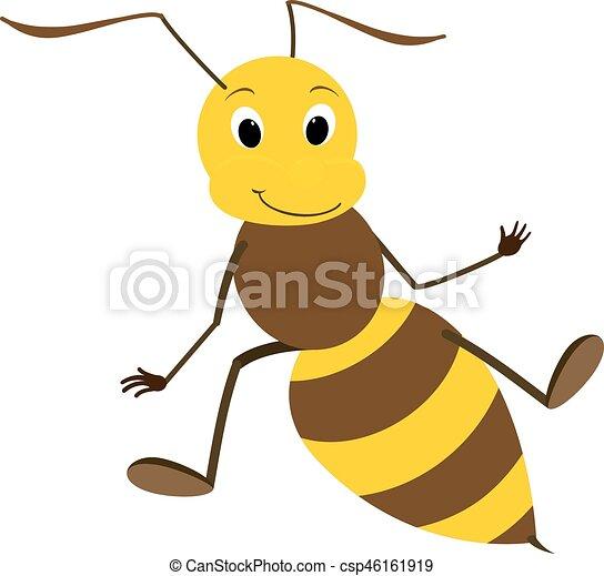 かわいい 味方 イラスト 蜂 かわいい 微笑 味方 イラスト 蜂