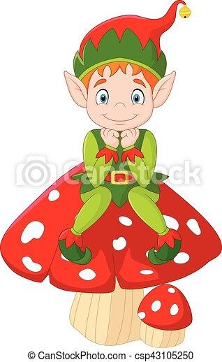 かわいい 妖精 緑 きのこ モデル かわいい きのこ モデル 妖精