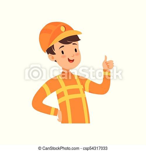 かわいい 男の子 特徴 消防士 消防士 イラスト ベクトル 衣装