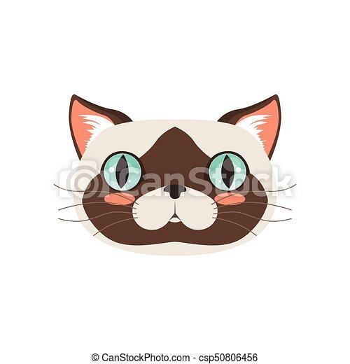 かわいい 面白い 特徴 イラスト ねこ ベクトル 動物の頭 漫画