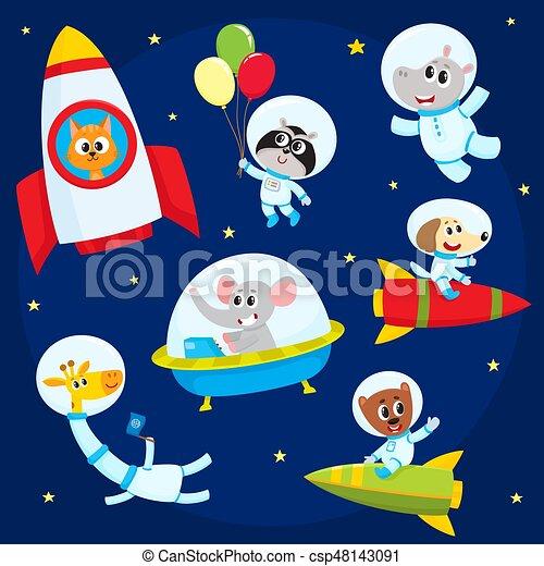 かわいい 飛行 Ufo 宇宙人 宇宙飛行士 宇宙服 動物 ロケット