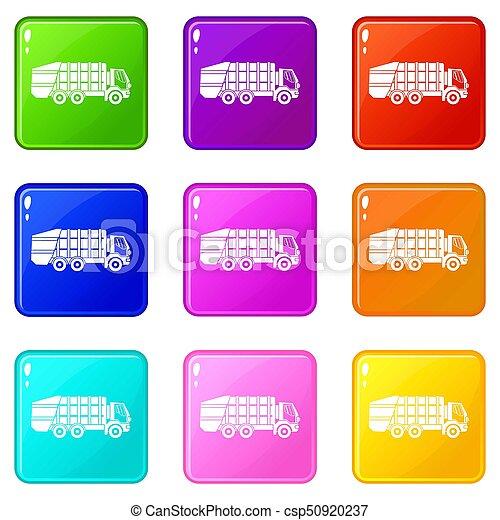 ごみ, 9, トラック, セット - csp50920237
