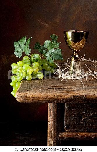 とげ, 王冠, ワイン - csp5988865