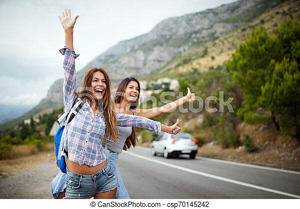 のまわり, 会社, 情報通, 旅行, 世界, 友人, 幸せ - csp70145242