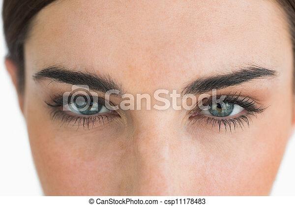 の上, 目, 終わり - csp11178483