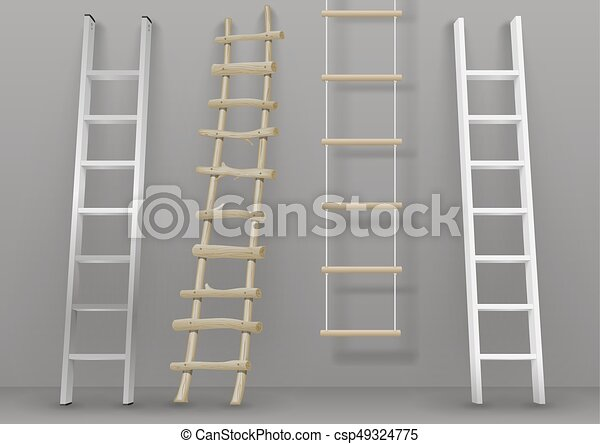 はしご, 別, セット - csp49324775