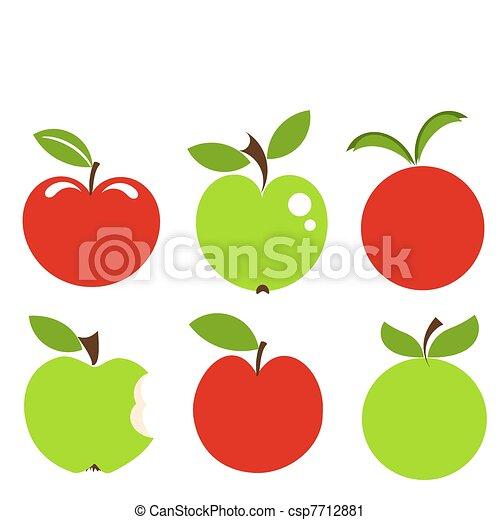 りんご, アイコン - csp7712881