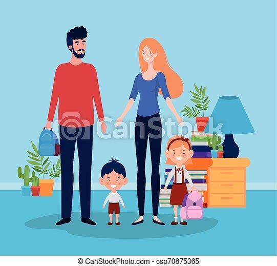 わずかしか, 子供 部屋, 生徒, 恋人, 教師 - csp70875365