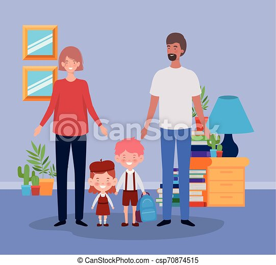 わずかしか, 子供 部屋, 生徒, 恋人, 教師 - csp70874515