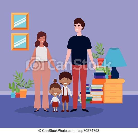 わずかしか, 子供 部屋, 生徒, 恋人, 教師 - csp70874793