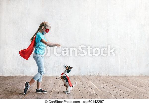 わずかしか, 英雄, 犬 - csp60142297