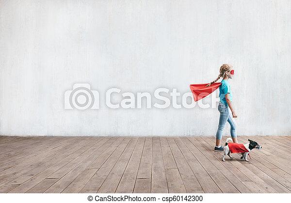 わずかしか, 英雄, 犬 - csp60142300