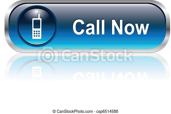 アイコン, ボタン, 私達に連絡しなさい - csp6514588