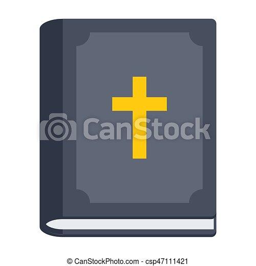 アイコン, 聖書, ベクトル - csp47111421