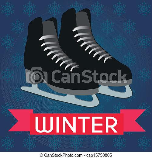 アイススケートをする - csp15750805