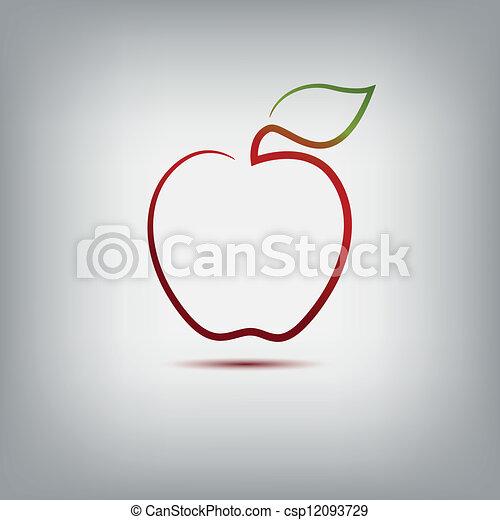 アップル - csp12093729