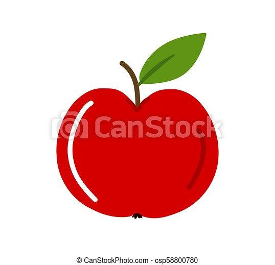 アップル, 赤 - csp58800780