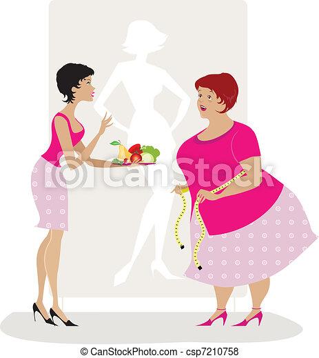 アドバイス, 食事 - csp7210758
