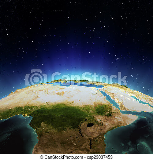 アフリカ - csp23037453