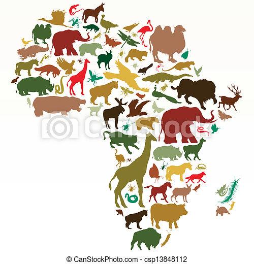 アフリカ - csp13848112