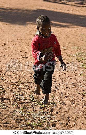 アフリカ, 子供 - csp0732082