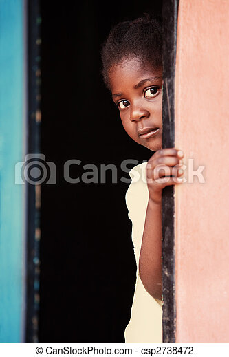 アフリカ, 子供 - csp2738472