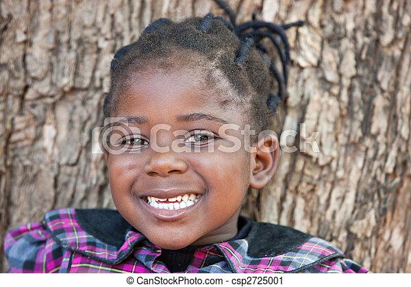 アフリカ, 子供 - csp2725001