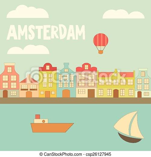 アムステルダム - csp26127945