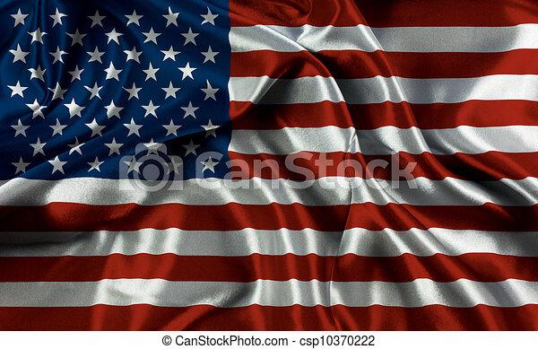 アメリカの旗 - csp10370222