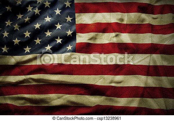 アメリカの旗 - csp13238961