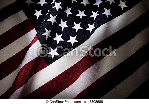 アメリカの旗 - csp5808686