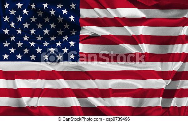 アメリカの旗 - csp9739496