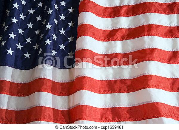 アメリカの旗 - csp1639461