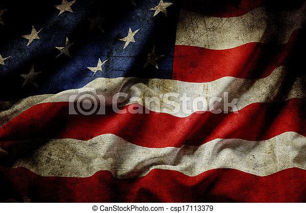 アメリカの旗 - csp17113379