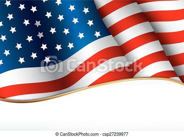 アメリカの旗 - csp27239977