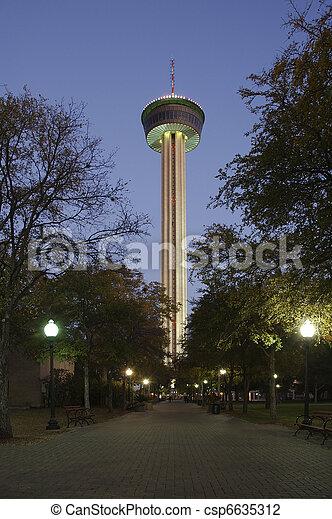 アメリカ人, タワー, twlight - csp6635312