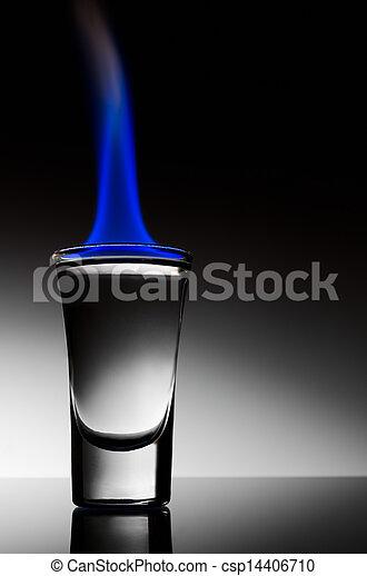 アルコール, 燃焼 - csp14406710